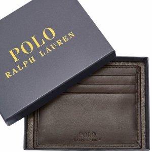 Wizytownik skórzany Ralph Lauren etui na karty wizytówki