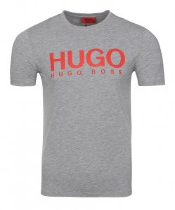 Hugo Boss t-shirt koszulka męska szara