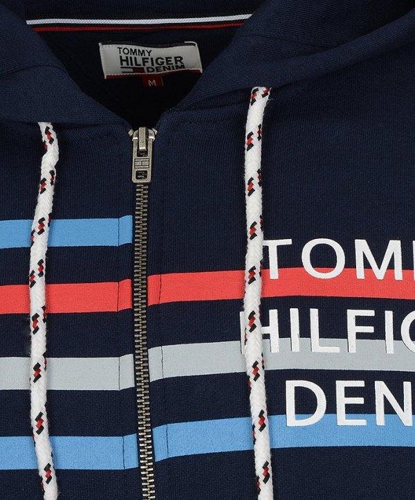 TOMMY HILFIGER DENIM BLUZA MĘSKA GRANATOWA
