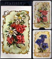 Kwiaty - 2 talie kart + bloczek