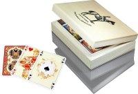 Karty lux w jasnym pudełku z logo Piatnika
