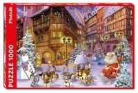 Puzzle Ruyer, Świąteczna Wioska 1000el.