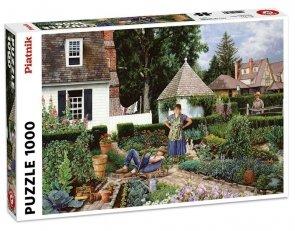 Puzzle Leniwy ogrodnik