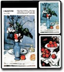 Cezanne - 2 talie kart + bloczek