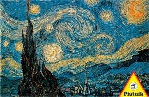 Puzzle van Gogh, Gwiaździsta noc Piatnik