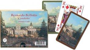 Canaletto, Pałac w Wilanowie - 2 talie