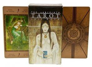Karty Fournier Tarot Labirynt by Luis Royo