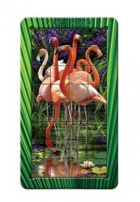 Puzzle Flamingi 3D Piatnik
