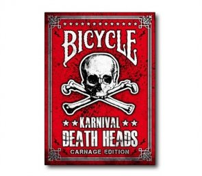 Karty Bicycle Karnival Death Heads