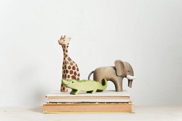 Zestaw zabawek drewnianych