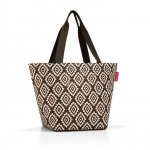 Torba na zakupy Shopper M kolor Diamonds Mocha, firmy Reisenthel