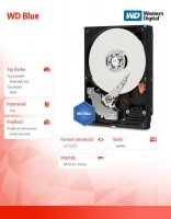 HDD Blue 1TB 3,5'' 64MB SATAIII/5400rpm