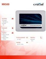 MX500 2TB Sata3 2.5'' 560/510 MB/s