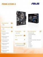 Płyta główna PRIME H310M-A R2.0 s1151 2DDR4 HDMI/DVI/ uATX