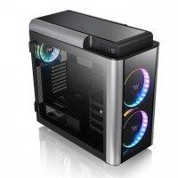 Obudowa LEVEL 20 GT RGB Riing Plus E-ATX Full Tower Tempered Glass - czarna