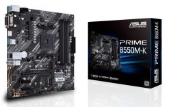 Płyta Asus PRIME B550M-K /AMD B550/SATA3/M.2/USB3.1/PCIe4.0/AM4/mATX