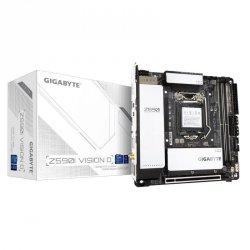 Płyta Gigabyte Z590I VISION D (rev. 1.0)/Z590/DDR4/SATA3/M.2/USB3.1/PCIe3.0/s.1200/WIFI/BT/Mini-ITX