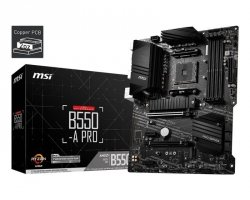 Płyta MSI B550-A PRO /AMD B550/DDR4/SATA3/M.2/USB3.1/PCIe4.0/AM4/ATX