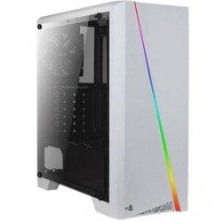 Obudowa CYLON USB 3.0 Biała RGB