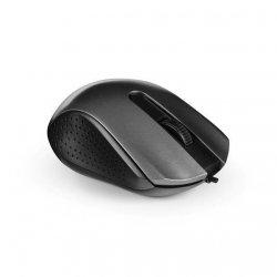 Mysz optyczna przewodowa M4.1 szaro-czarna