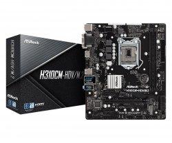 Płyta główna H310CM-HDV/M.2 s1151 2DDR4 HDMI/DVI/VGA/USB 3.1 micro ATX