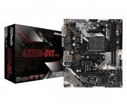Płyta główna A320M-DVS R4.0 AM4 2DDR4 DSUB/DVI/USB 3.1 micro ATX