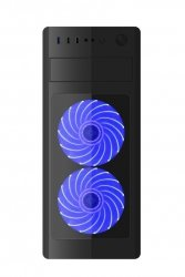 Obudowa Midi Tower Fornax 1000 B niebieska