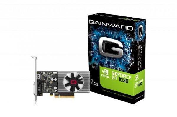 Karta VGA Gainward GT1030 2GB DDR4 64bit DVI+HDMI PCIe3.0