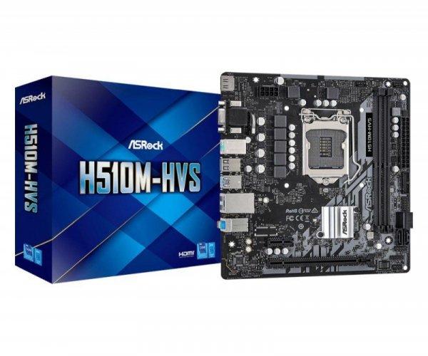 Płyta ASRock H510M-HVS /H510/DDR4/SATA3/USB3.0/PCIe4.0/s.1200/mATX