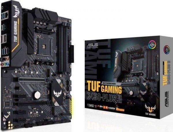 Płyta Asus TUF GAMING B450 PLUS II/AMD B450/SATA3/M.2/USB3.1/PCIe3.0/AM4/ATX