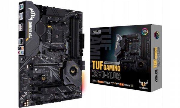 Płyta Asus TUF Gaming X570-Plus/AMD X570/SATA3/M.2/USB3.1/PCIe4.0/AM4/ATX