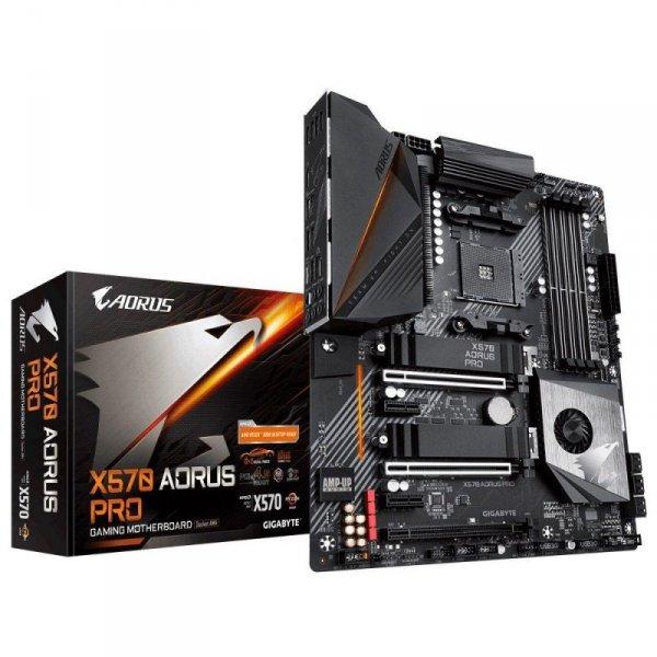 Płyta Gigabyte X570 AORUS PRO /AMD X570/DDR4/SATA3/M.2/USB3.1/PCIe4.0/AM4/ATX