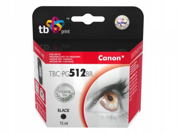 TB Print Tusz do Canon MP 480 TBC-PG512BR BK