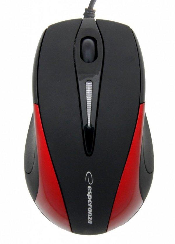 SIRIUS Mysz Optyczna EM102R USB