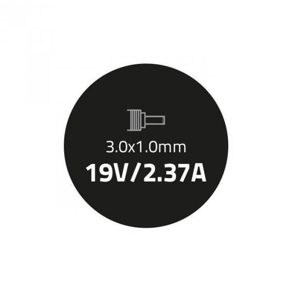 Zasilacz do ultrabooka Asus 45W | 19V | 2.37A | 3.0*1.0