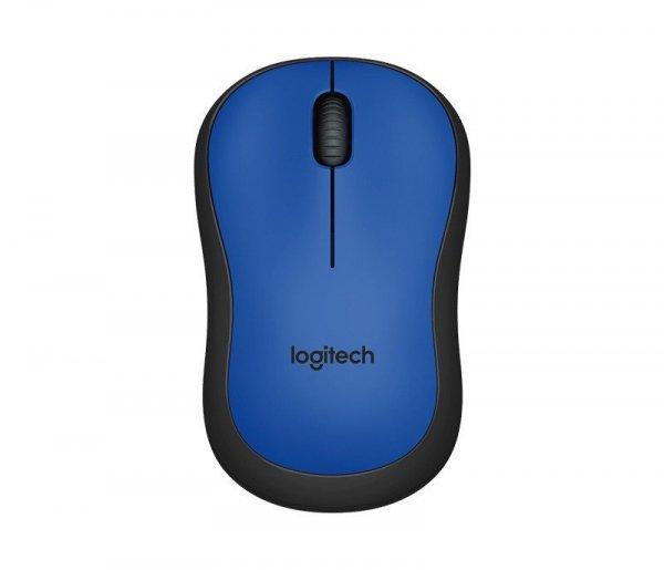 M220 Silent Mouse Niebieski    910-004879