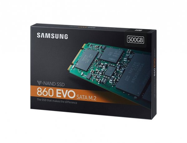 Dysk SSD 860EVO M.2 Sata MZ-N6E500BW 500G