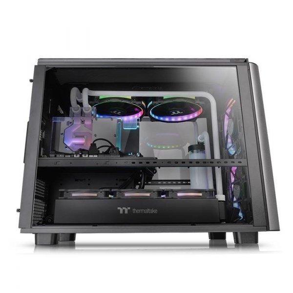 Obudowa LEVEL 20 XT E-ATX Tempered Glass Cube - czarna