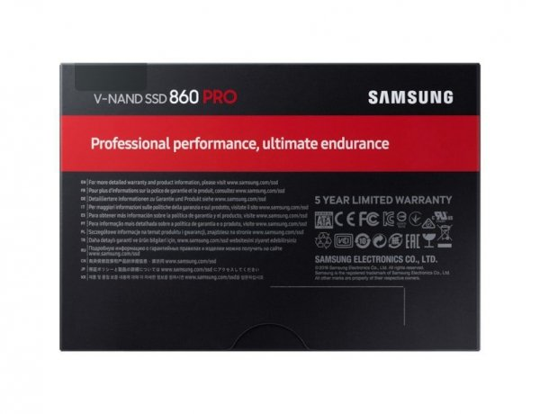 Dysk SSD 860PRO MZ-76P4T0B/EU 4 TB