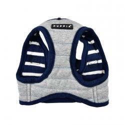 Vest-Harness MISCHIEF milk-gray
