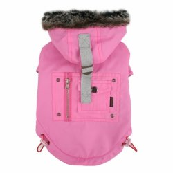 Winter jacket COUP D'ETAT pink