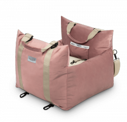 Car bed COMFY pink 3 in 1