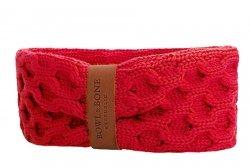 Dog chimney scarf JOY deep red