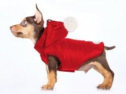 Super ciepła kurtka BLIZZ czerwona