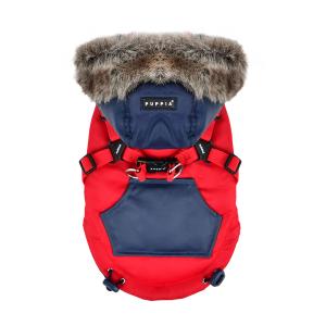 Zimowa kurtka ORSON czerwona