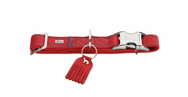 Collar LUCCA ALU-STRONG red Hunter