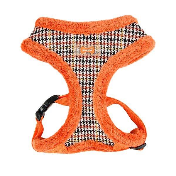 ocieplane szelki dla psa Auden w kolorze pomarańczowym od Puppia