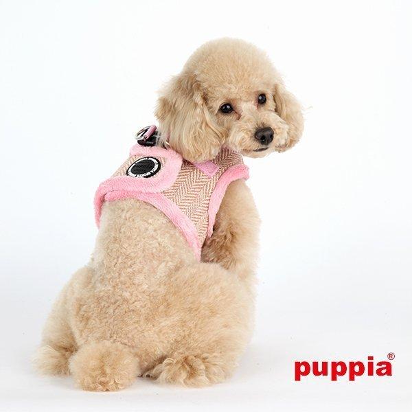 szelki kamizelka Puppia Witta różowe
