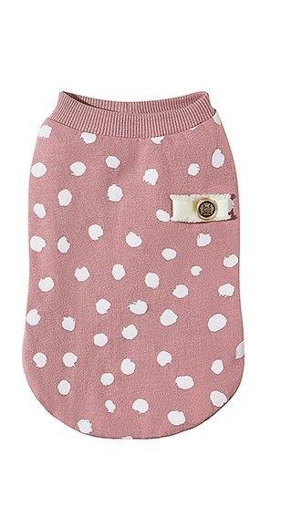 Bluzka dla psa DOTS różowa