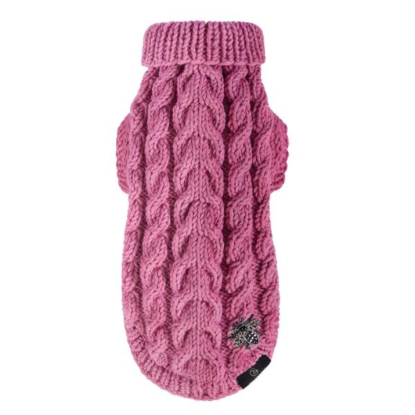 Wełniany Sweterek SLIGHT różowy